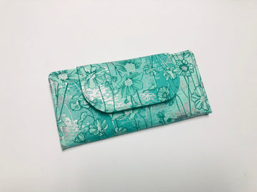 Dusti's Garden Wallet - Green