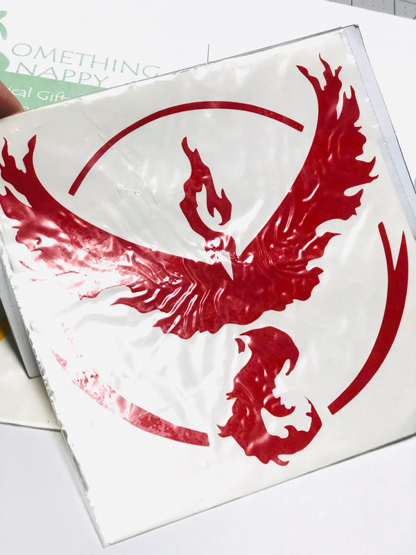 Team Valor Vinyl Decal