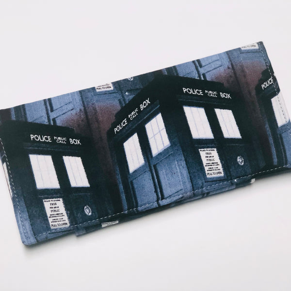 Doctor Who Dusky Tardis Wallet