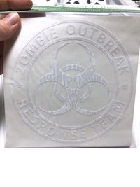 Zombie Outbreak Response Team Vinyl Decal