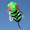Animal 3m. Bee Kite Flying Kite Handle & Line Outdoor Fun Sports