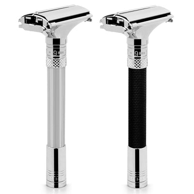 Parthenon V2.0 Razor Butterfly Open Adjustable Safety Shaving Razor