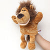 Cartoon Animal Glove Hand Puppet Finger Plush Toy 30 cm.