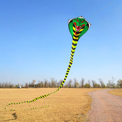 Outdoor Fun 15m. Mamba Snake Kites With 100 m. Handle And Line