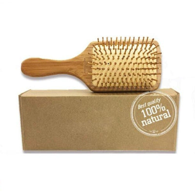 Natural Wooden Hair Brush Pin Hairbrush Scalp Massage