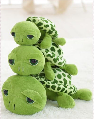 40cm.-80cm. Cute Green Big Eyes Sea Turtle Stuffed Animal Plush Toys