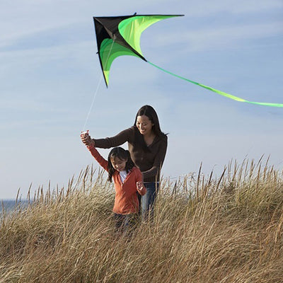 160cm. Super Huge Triangle Kite Flying Long Tail With Handle Line 30M.