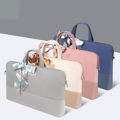 Women Laptop Bag Waterproof Laptop Briefcase Shoulder Messenger Bag
