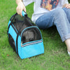 Dog Carrier Breathable Mesh Outgoing Travel Teddy Pet Handbag