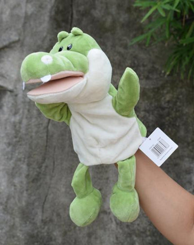 Animal Plush Doll Toy Stuffed Marionette Glove Hand Puppet 25 cm.