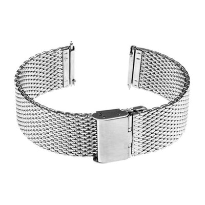 Milanese Stainless Steel Watch Strap Mesh Band With Hook Buckle