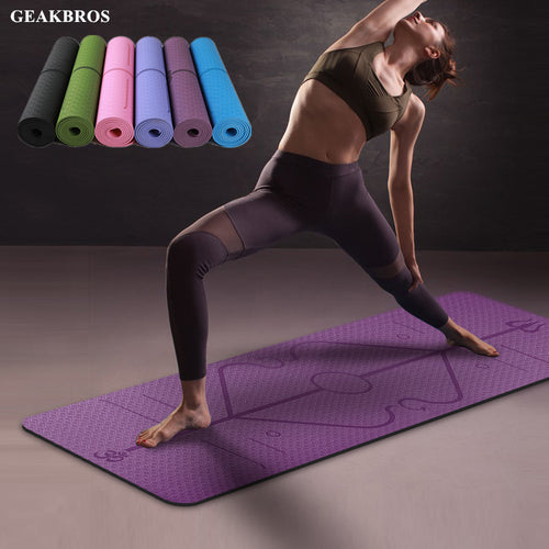 Positie Yoga Mat Stylish | Anti Slip