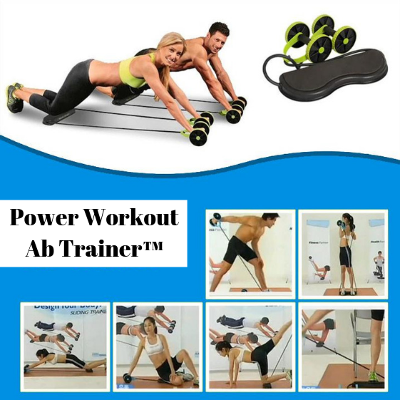 Power Workout Ab Trainer™ - Buik en Full Body Workout