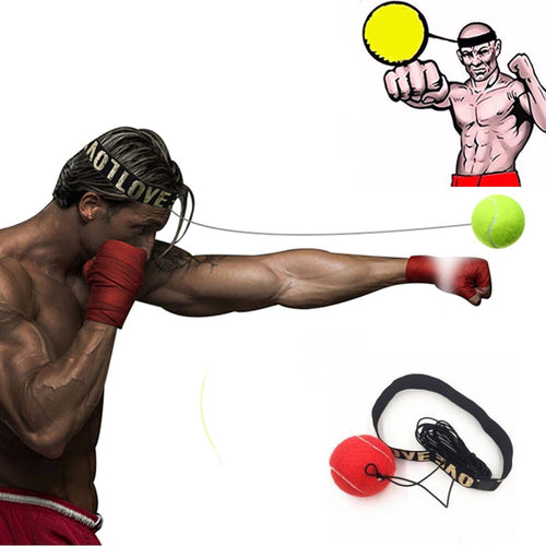 Hoofdband Boks Bal | Boksen Reflexbal | Reflex Speed Ball - Immense Fit