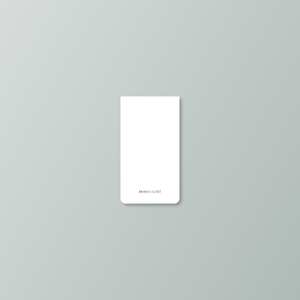 Minimalist Mini Notepad 2-Pack