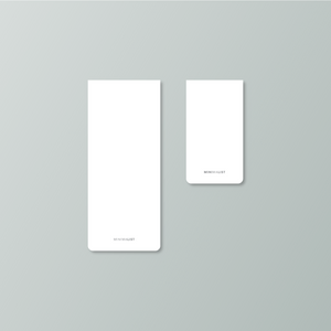 Minimalist Notepad 2-Pack