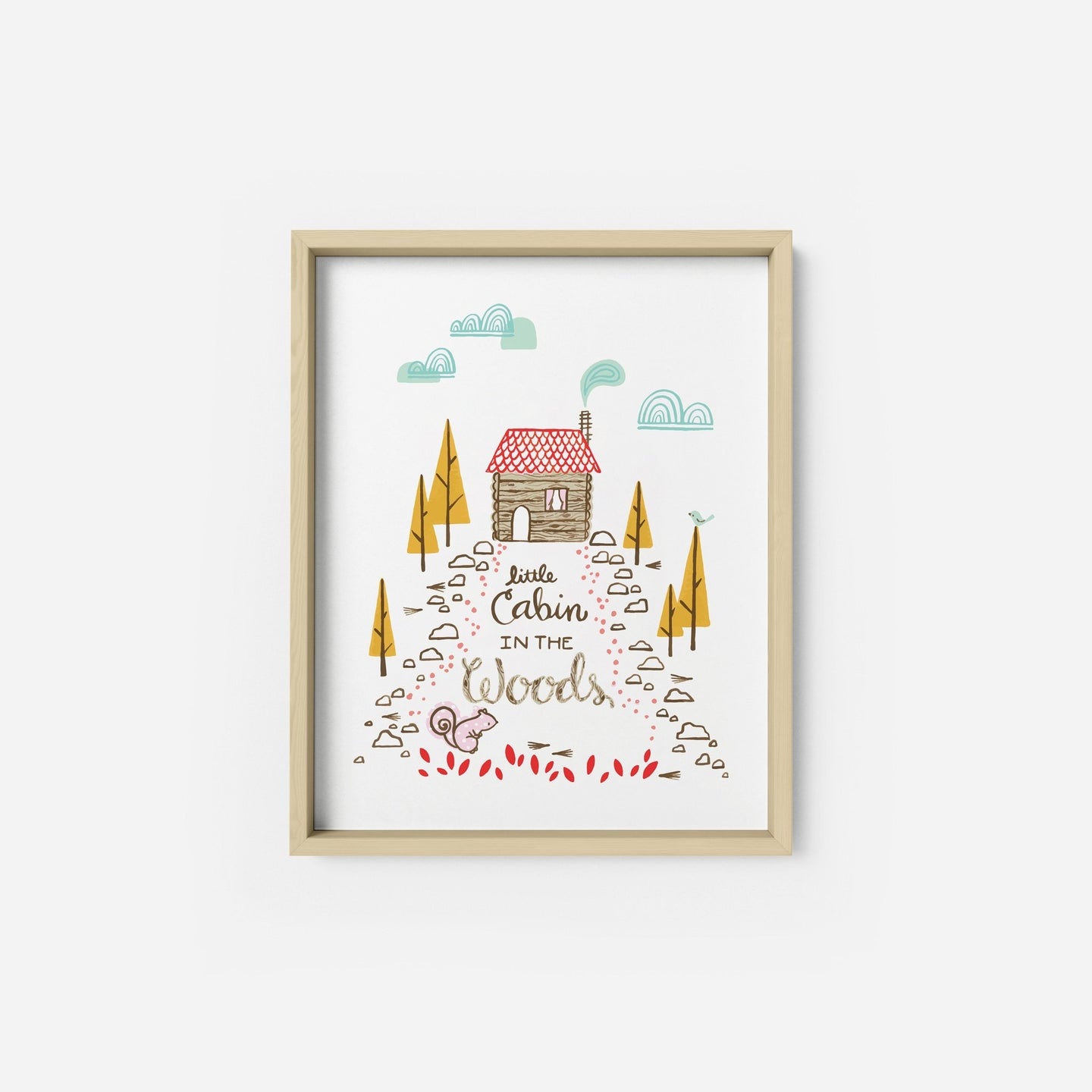 Little Cabin Art Print