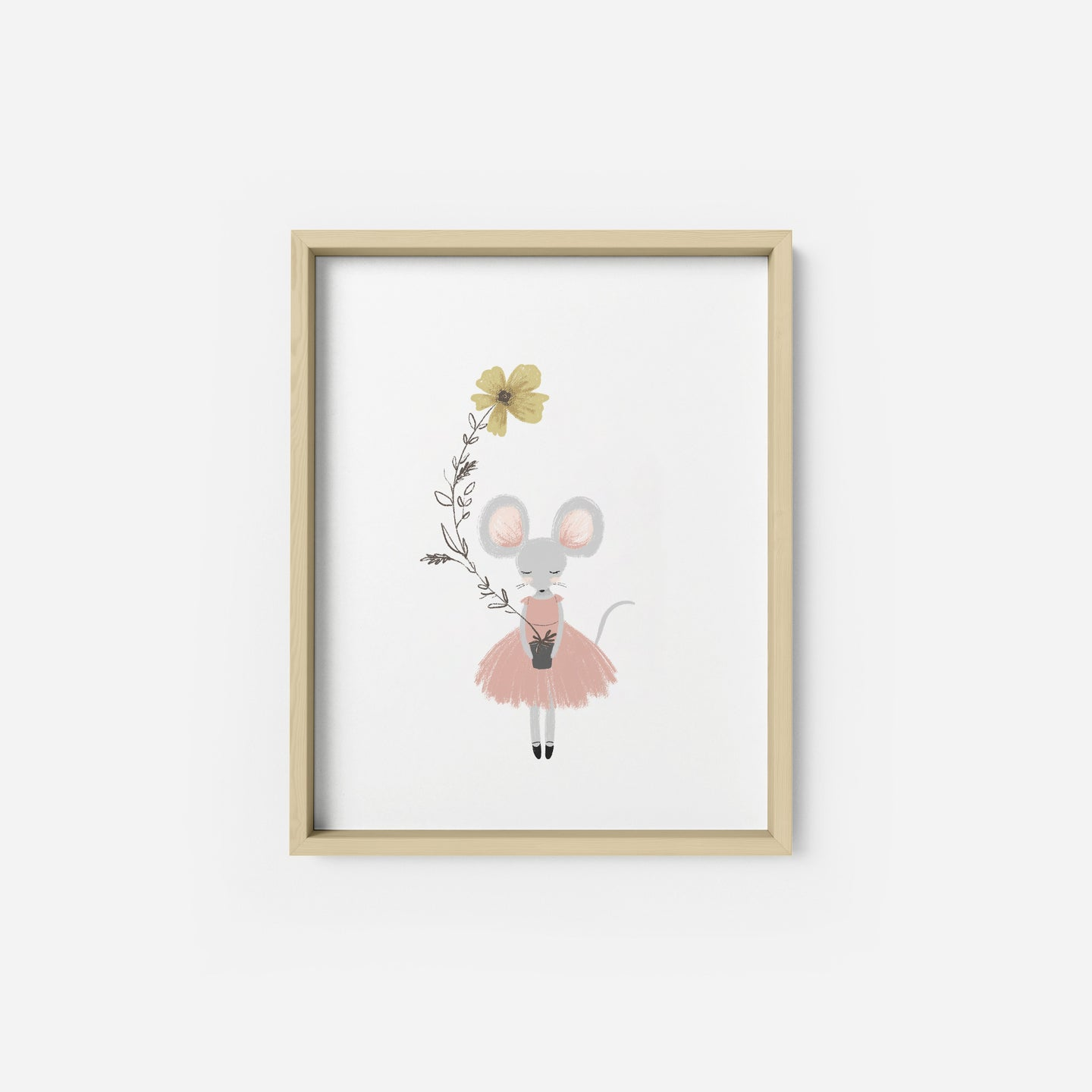 Spring Mouse Art Print