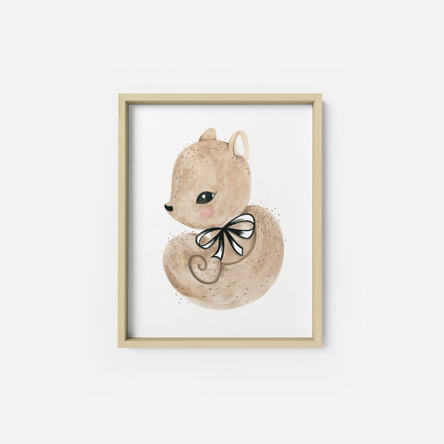 Sweet Squirrel Art Print