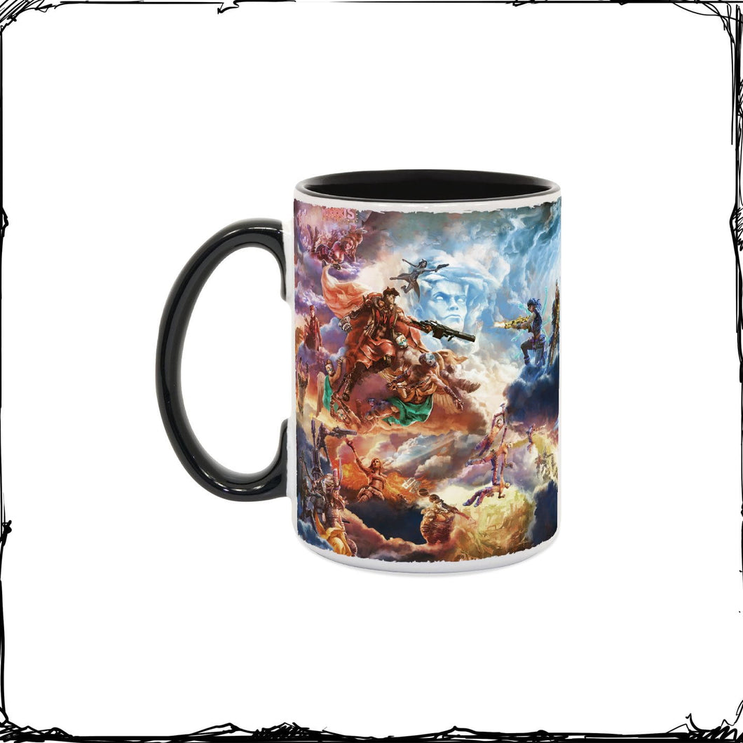 Borderlands Mural of Mayhem Coffee Mug