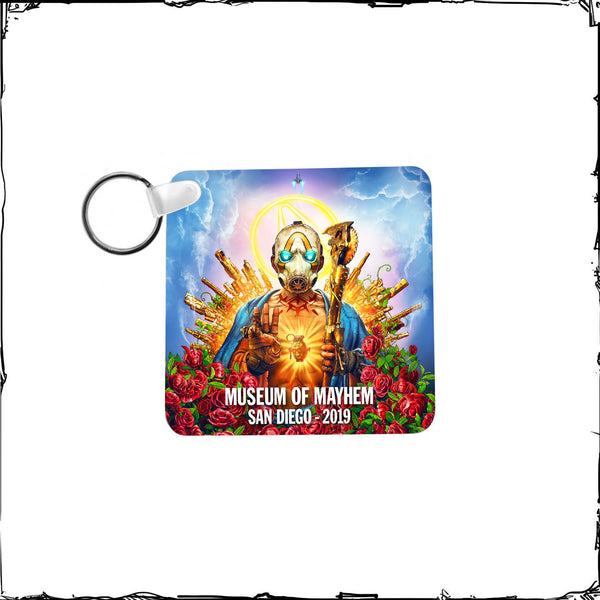 Museum of Mayhem Messiah Keychain