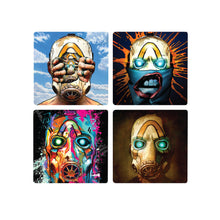 Load image into Gallery viewer, Museum of Mayhem Fine Art Coaster Set (4 pack)