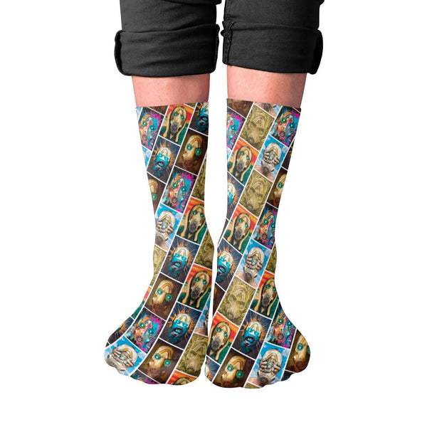 Museum of Mayhem Fine Art Socks