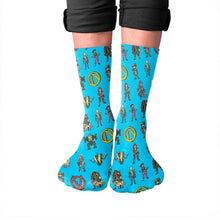 Load image into Gallery viewer, Pixel Vault Hunters Crew Socks