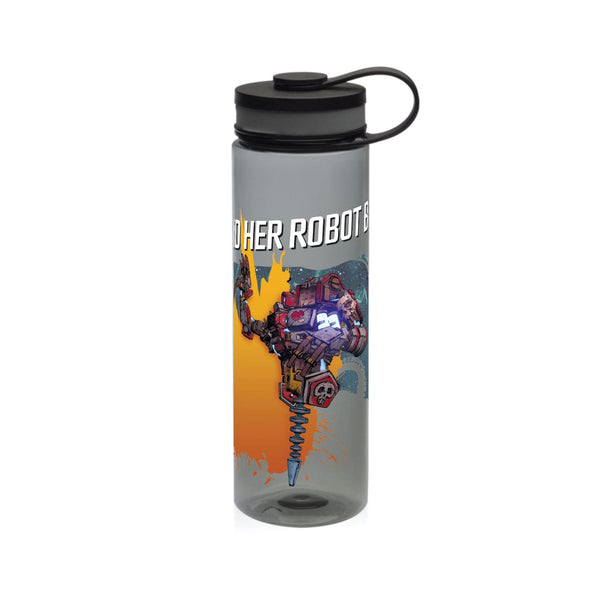 Gaige and Her Robot BFF Wide Mouth Water Bottle