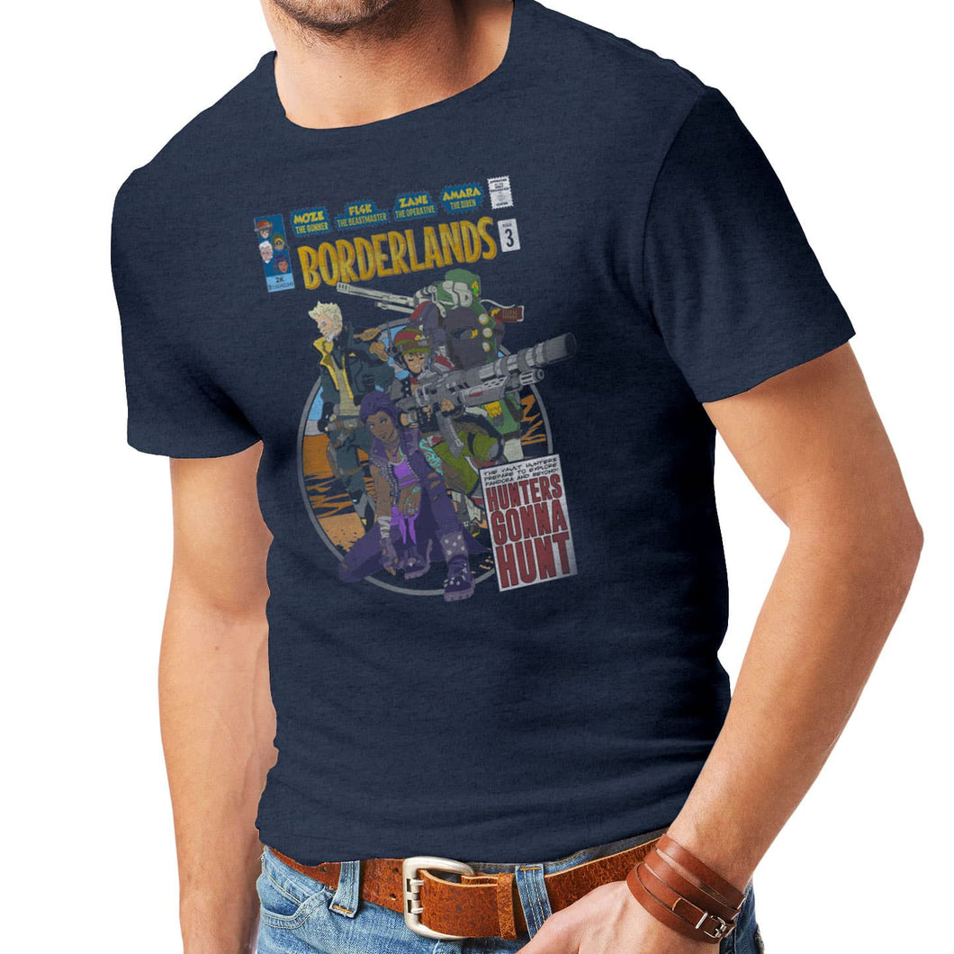 Borderlands Comic Book Cover T-Shirt