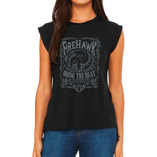 Load image into Gallery viewer, Firehawk Women's Muscle T-Shirt - Gearbox Loot