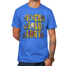 Load image into Gallery viewer, Pixel Art Lock Load Loot T-Shirt
