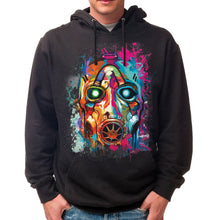 Load image into Gallery viewer, Psycho Bandit Graffiti Mask Hoodie