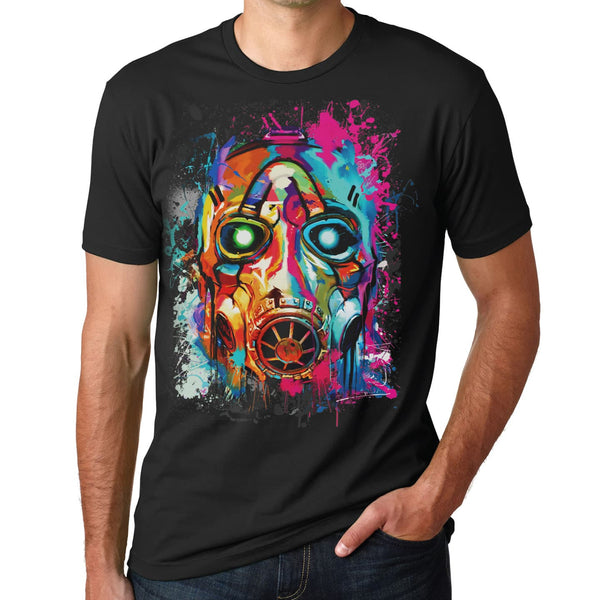 Psycho Bandit Mask Graffiti T-Shirt