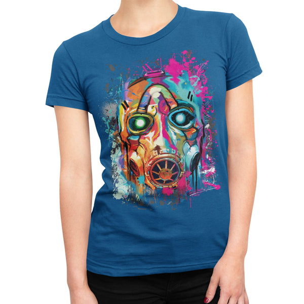 Psycho Bandit Mask Graffiti Ladies T-Shirt