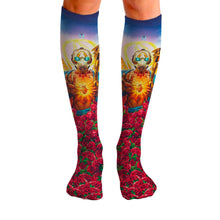 Load image into Gallery viewer, Borderlands 3 Messiah Knee High Socks