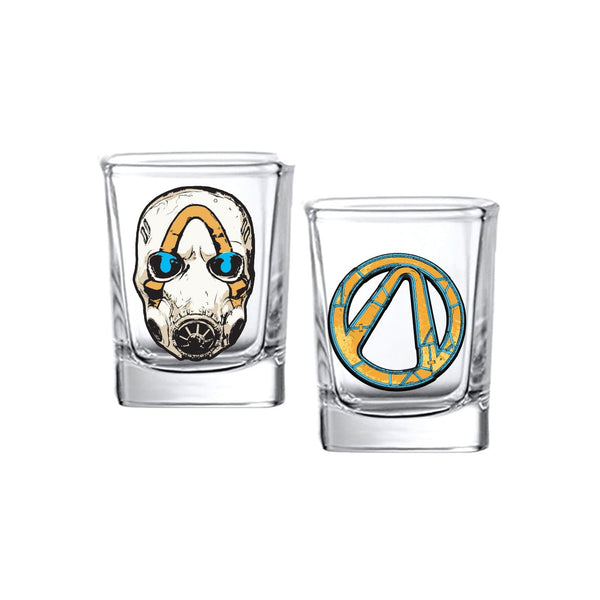 Borderlands 3 Shot Glasses (2 pack) - Gearbox Loot