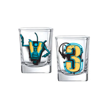 Load image into Gallery viewer, Borderlands 3 Shot Glasses (2 pack) - Gearbox Loot