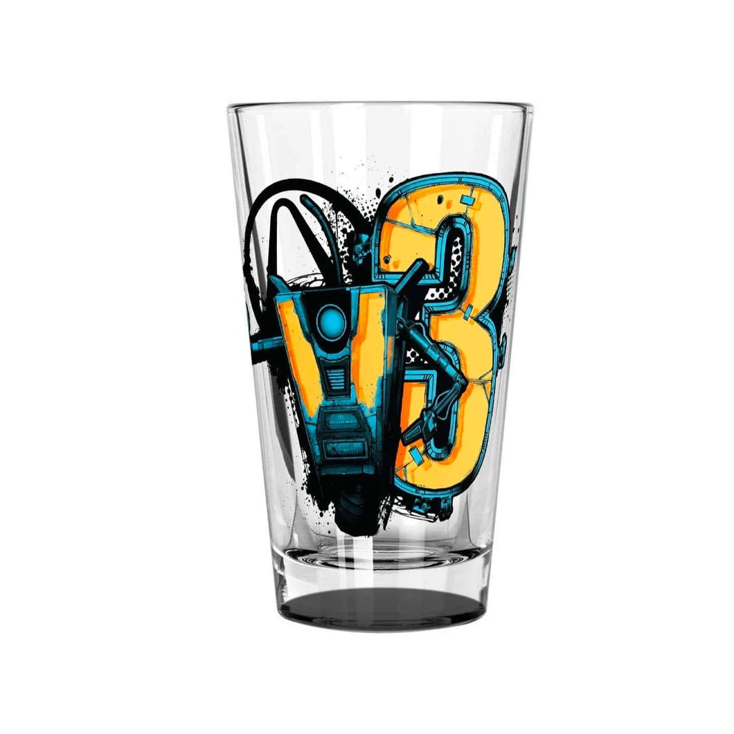 Claptrap Pint Glass