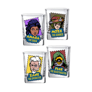 Borderlands 3 Vault Hunters 4-Pack Shot Set