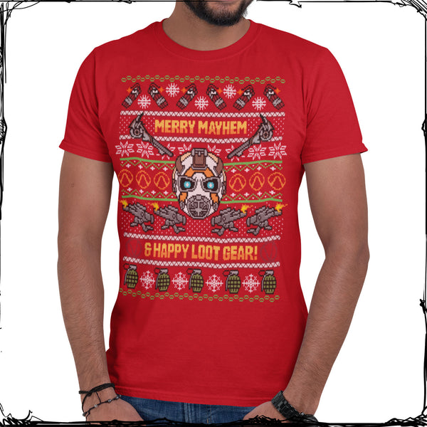 Merry Mayhem Borderlands Holiday T-Shirt