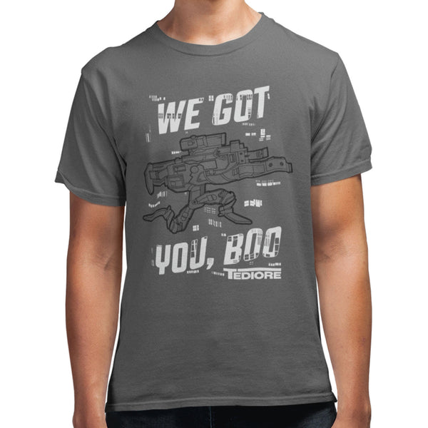 Tediore Walking Gun T-Shirt - Gearbox Loot