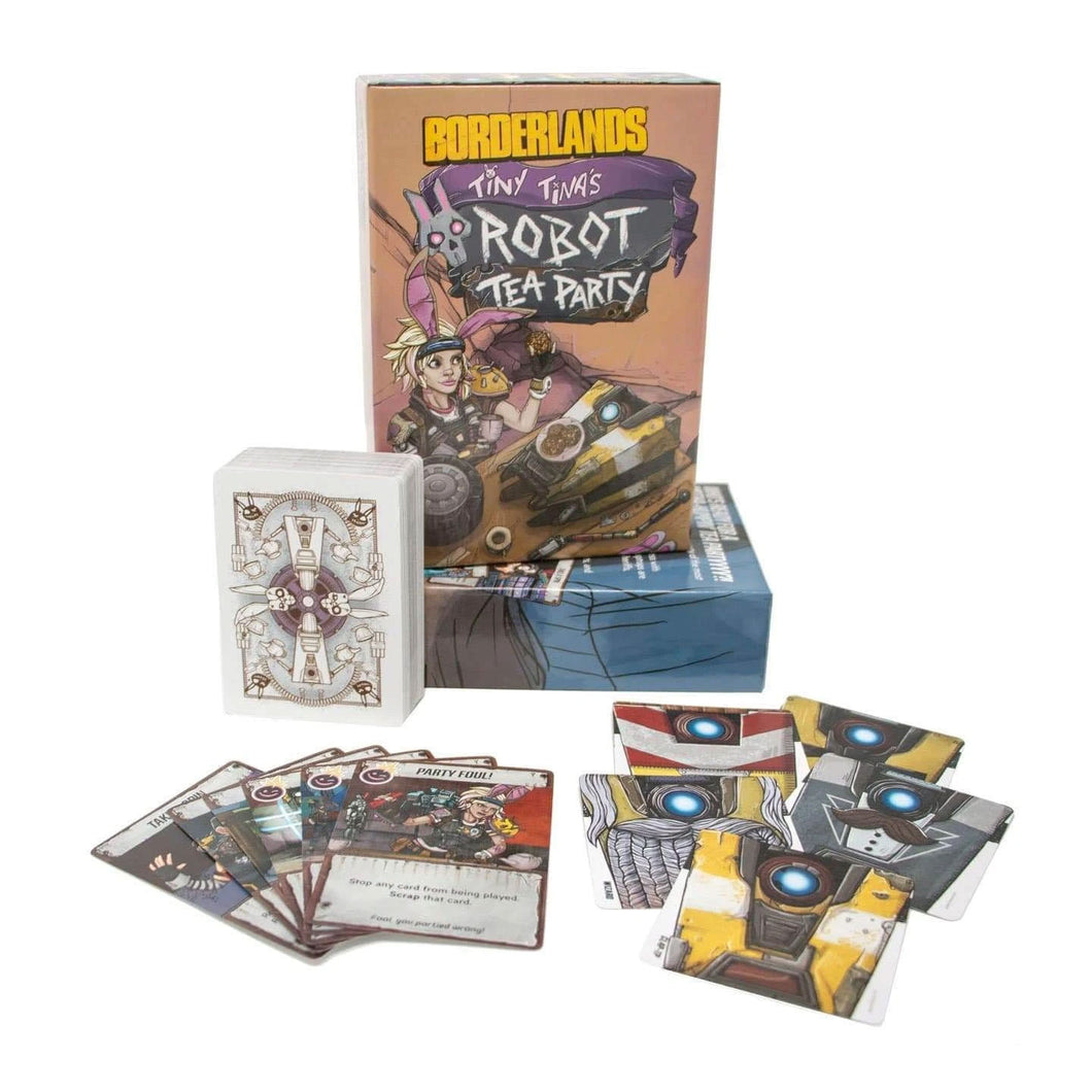 Tiny Tina's Robot Tea Party Borderlands Card Game - Gearbox Loot