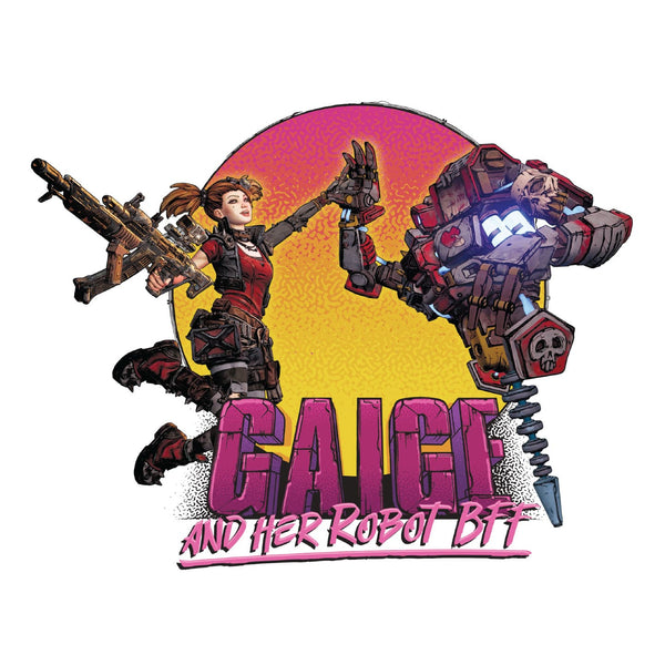 Gaige and Her Robot BFF Artwork