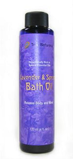 Lavender and Spruce Bath Oil