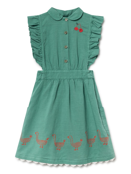 Bobo Choses | Ruffles Dress - Geese