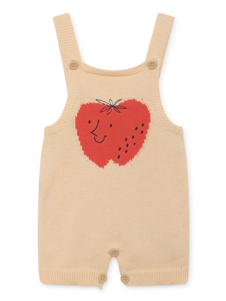 Bobo Choses | Knitted Overall - Strawberry