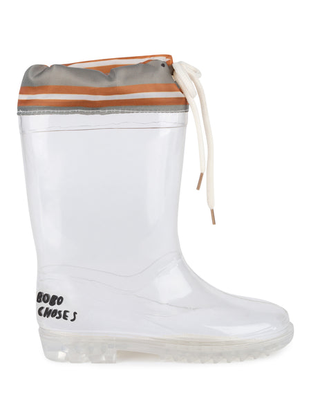 Bobo Choses | Laces Rain Boots