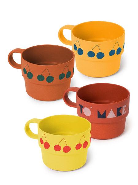 Bobo Choses | Bamboo Cups Pack of 4