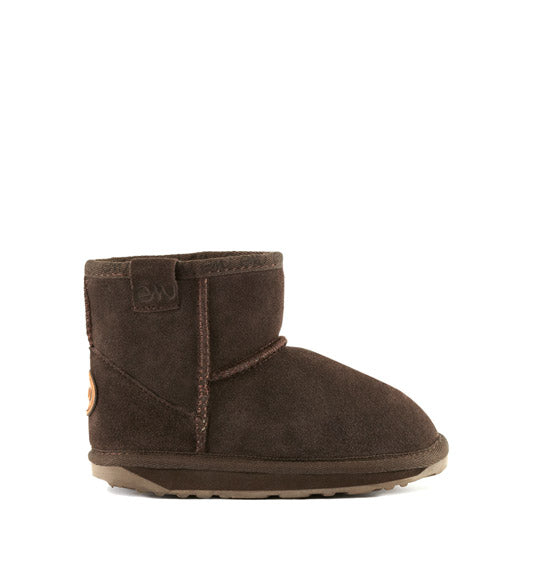 Emu | Wallaby Mini Sheepskin Boots - Chocolate